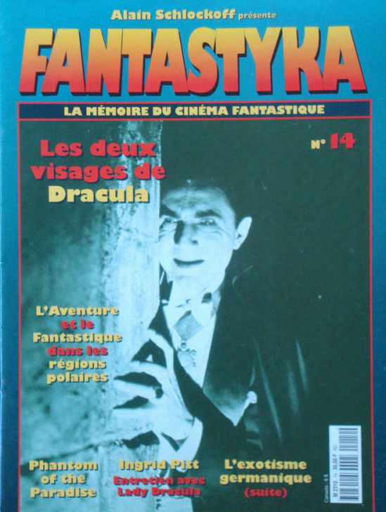 1997 Issue 14 of Fantastyka Le Memoire du Cinema Fantastique edited by Alain Schlockoff