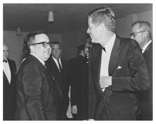 Allan Sherman and JFK