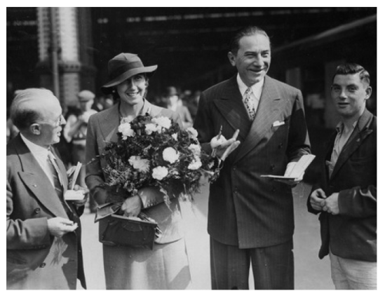 Bela & Lillian in England in August, 1935 3