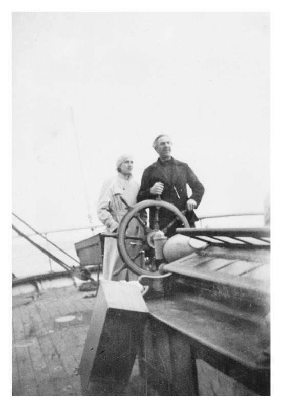 Mystery of the Marie Celeste: Bela Lugosi & Wife