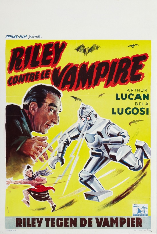 Mother Riley Meets The VampireBelgian Poster