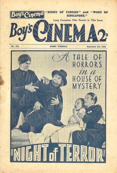 Boy's Cinema 1933