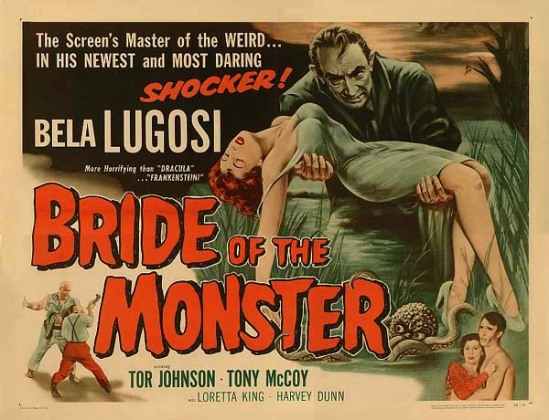 Bride of the Monster Half Sheet