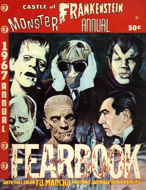 Castle of Frankenstein 1967 Yearbook