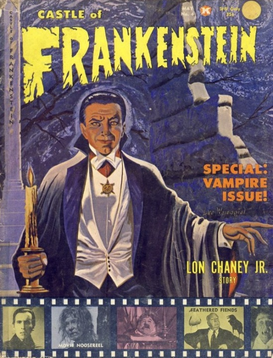 Castle of Frankenstein #4, 1964