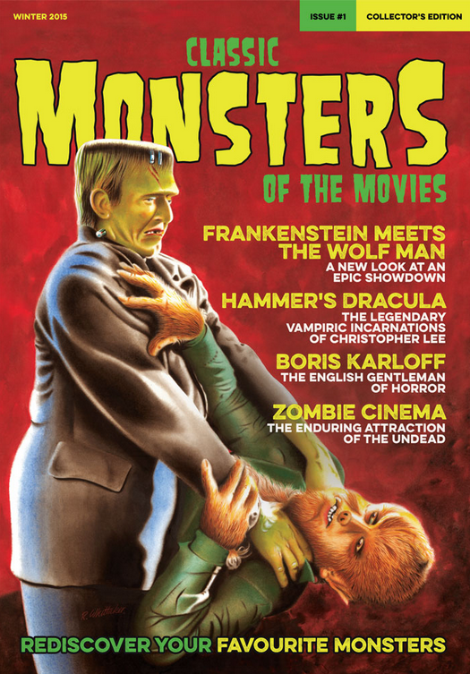 Classic Monsters of the Movies #1