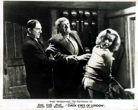 Dark Eyes Of London Lobby Card