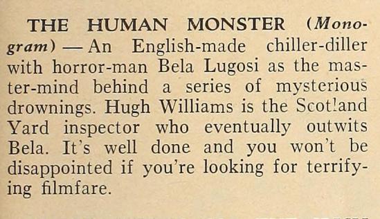 Dark Eyes of London Silver Screen, June 1940  2