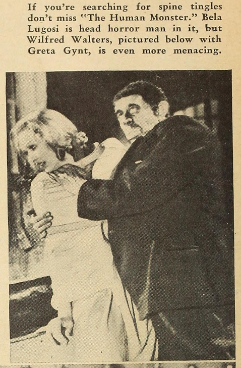 Dark Eyes of London Silver Screen, June 1940 a