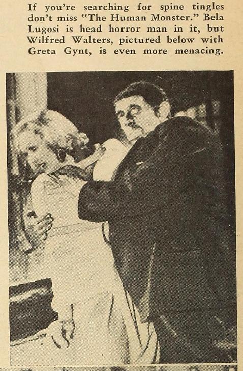 Dark Eyes of London Silver Screen, June 1940 a