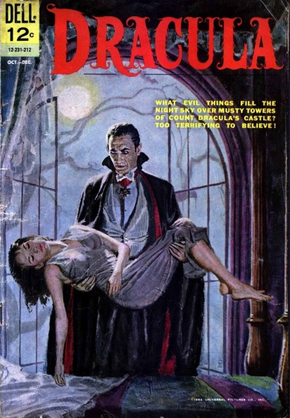 Dell Comics adaptation of Universal's Dracula, 1962