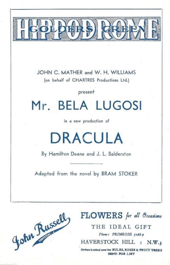Dracula, Golders Green