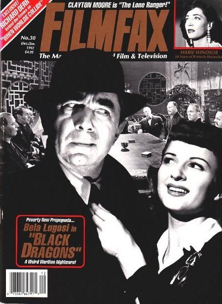 Filmfax, December, 1991