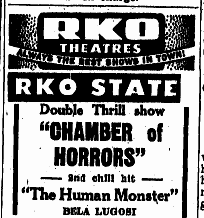 Human Monster, Trenton Evening Times, October 1, 1947