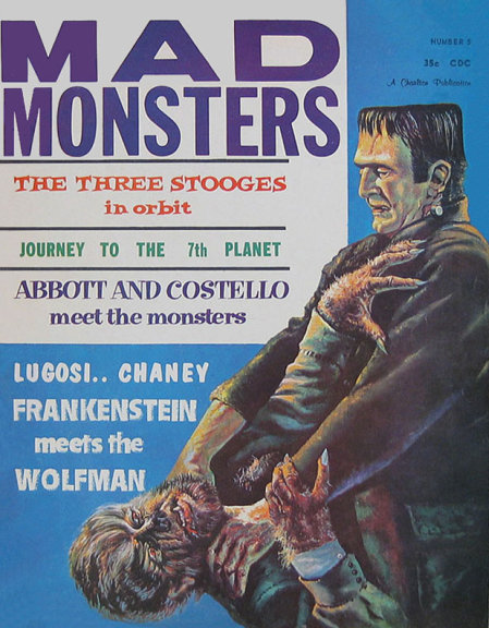 Mad Monsters #5, 1963