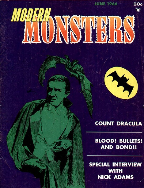 Modern Monsters, June, 1966