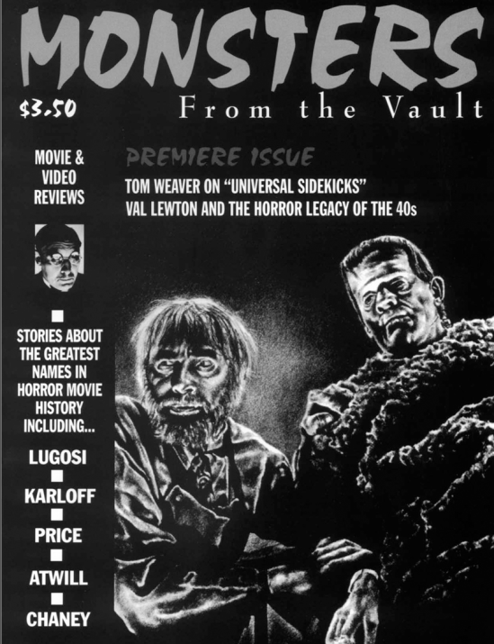 Monsters From The Vault #1, 1995