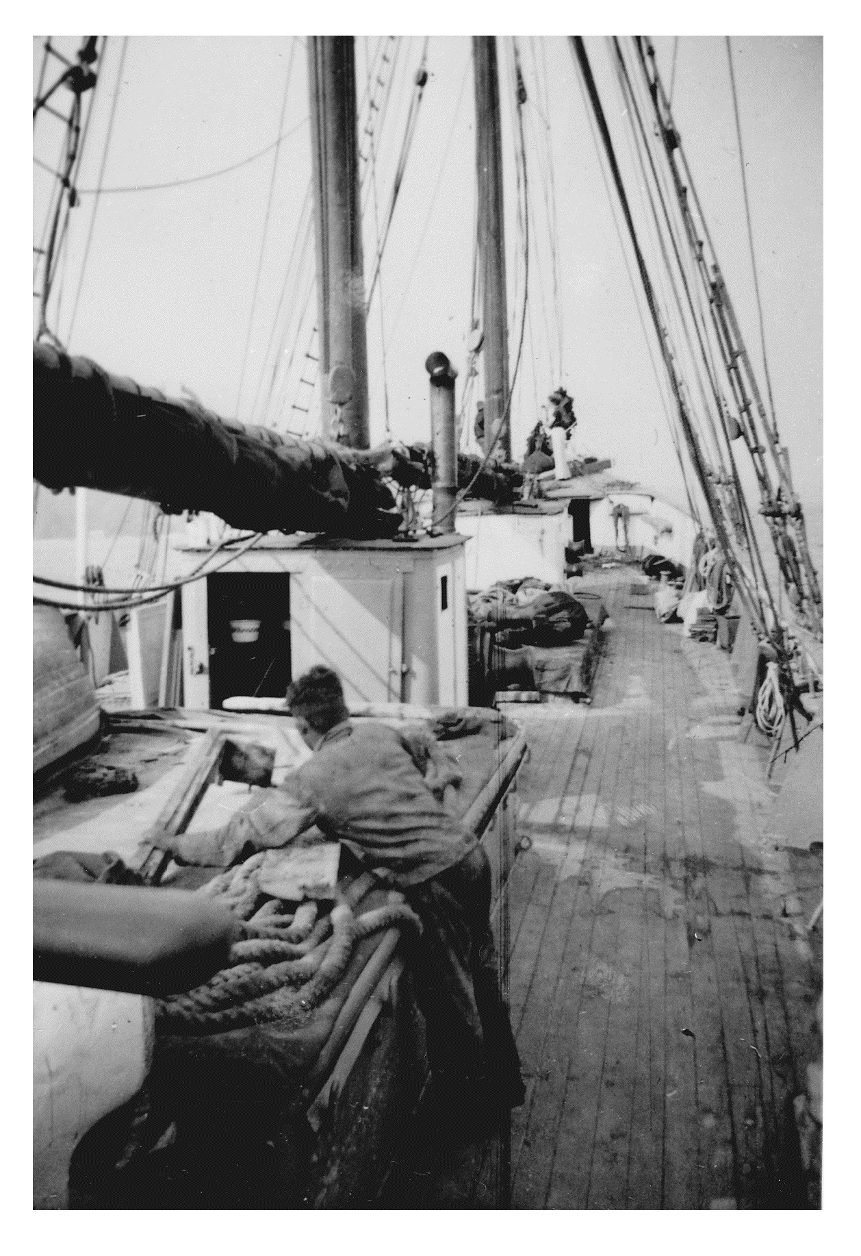 Mystery of the Marie Celeste: Paddy, one of the crew