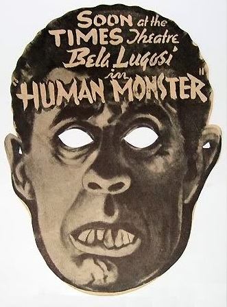 The Human Monster Promotional Mask