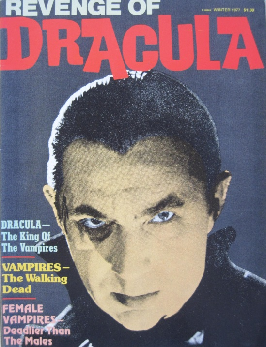 REVENGE OF DRACULA MAGAZINE WINTER 1977