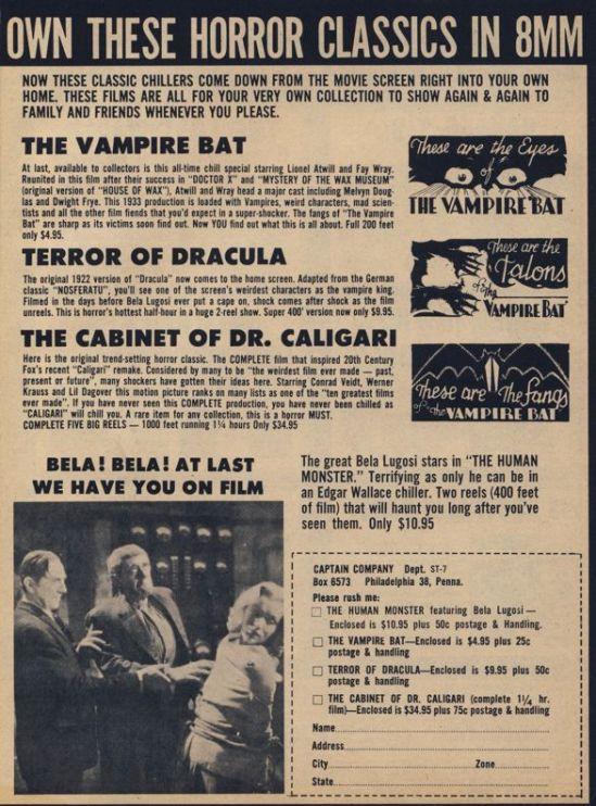 Screen Thrills Illustrated magazine; #7; February 1964.