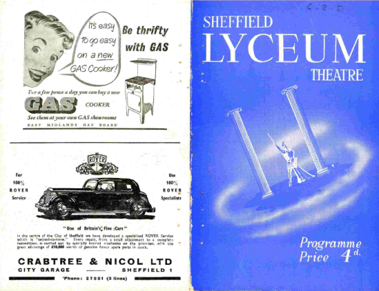 Sheffield Lyceum Programme Simon Greetham