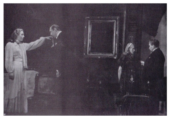 Sheila Wynn, Bela, Joan Harding and Arthur Hosking