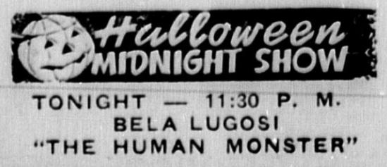 The Human Monster Stephens County Sun (Breckenridge, Tex.), October 31, 1940