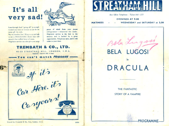 Streatham Hill Programme