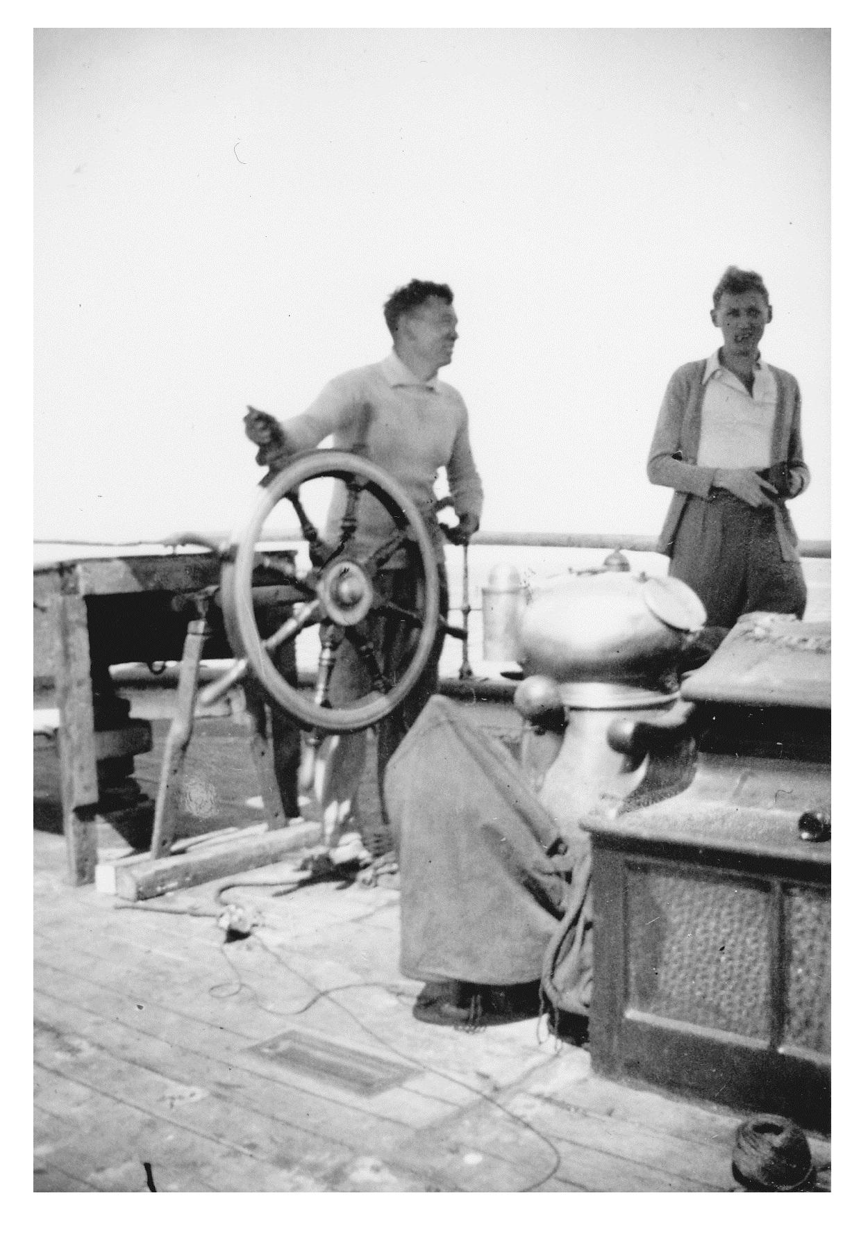 Mystery of the Marie Celeste: The Skipper & Jack Gilling
