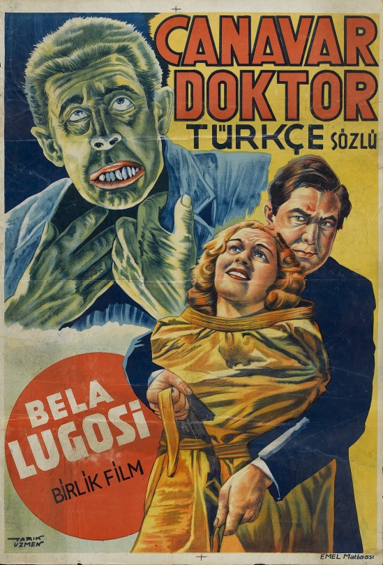 Dark Eyes of London Turkish one sheet