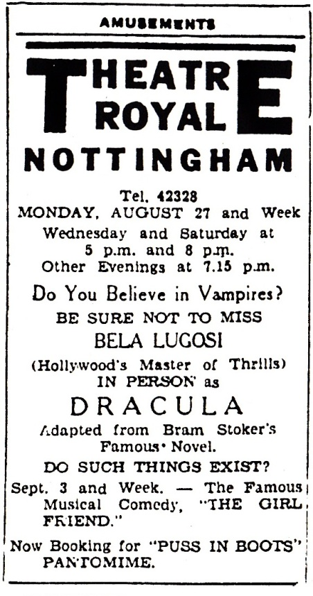 Nottingham Advertiser, August 25, 1951