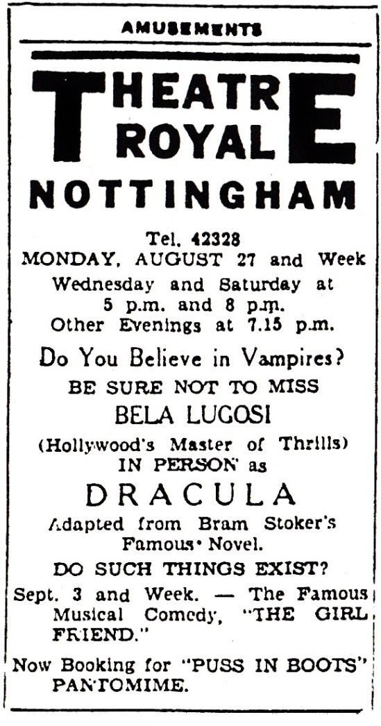 Nottingham Advertiser, August 25, 1951