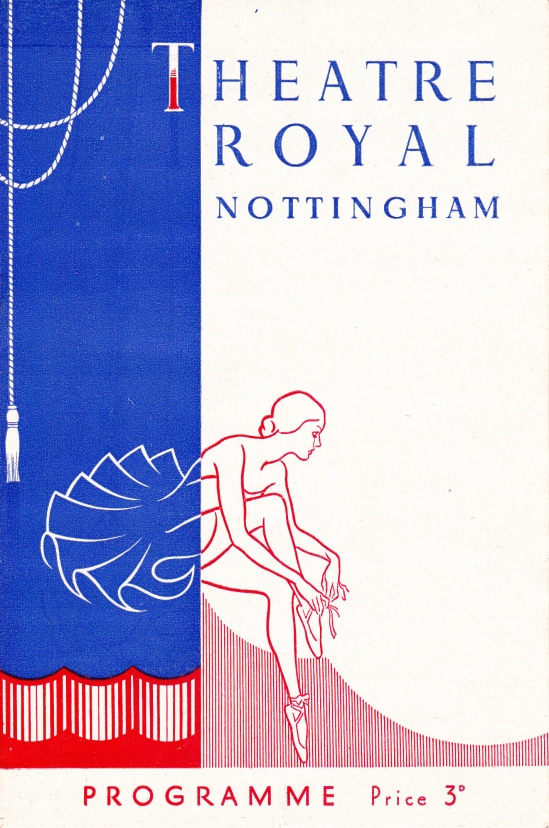Nottingham Theatre Royal Programme