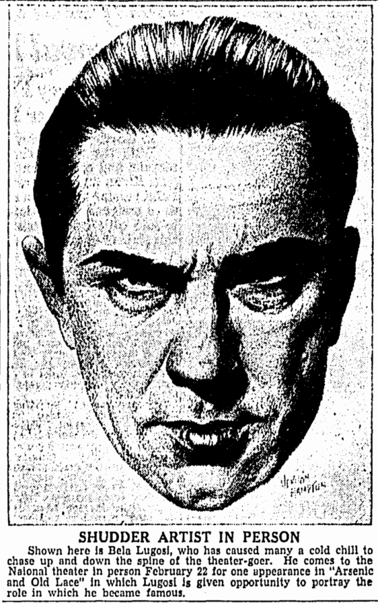 Arsenic and Old Lace, The Greensboro Daily News, February 13, 1944