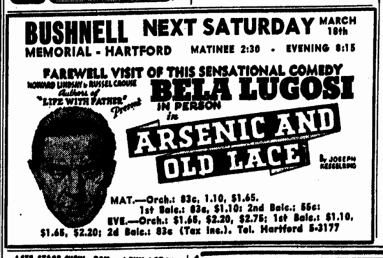 Arsenic and Old Lace, The Springfield Sunday Union And Republican, March 12, 1944 2
