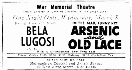 Arsenic and Old Lace, Trenton Evening Times, March 5, 1944 2
