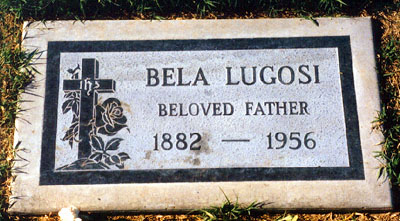 Bela's grave at Holy Cross Cemetery