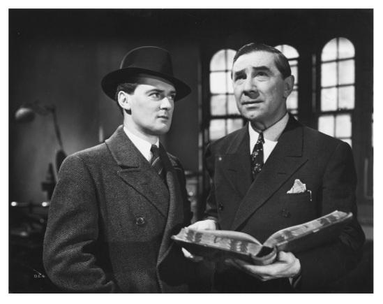 Dark Eyes of London Hugh Williams and Bela Lugosi