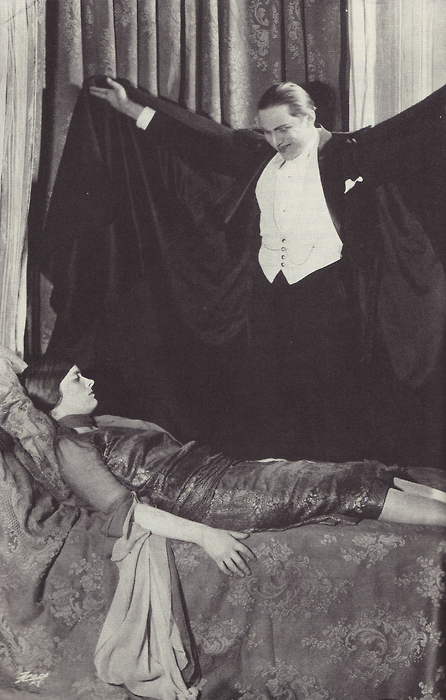 Dorothy Peterson and Bela Lugosi
