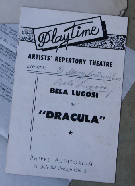 Dracula at the Phipps Auditorium 2