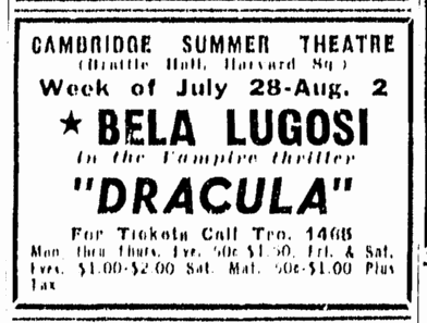 Dracula, Boston Herald, July 27, 1947 2