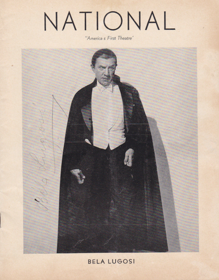 Dracula, National Theatre, 1943