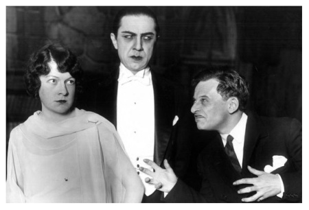 Hazel Whitmore, Bela Lugosi and Bernard Jukes