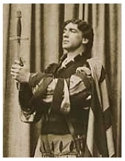 Herbert Langley as Valentine in Faust