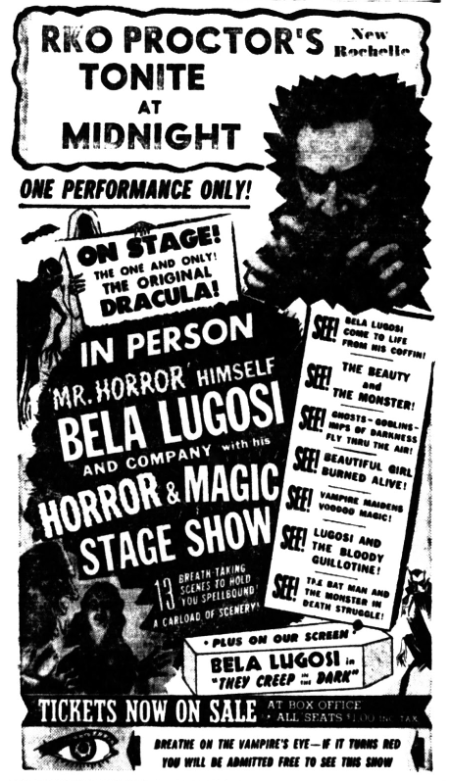 Horror & Magic Stage Show