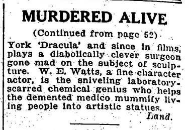 Murdered Alive, Variety April 12, 1932 2