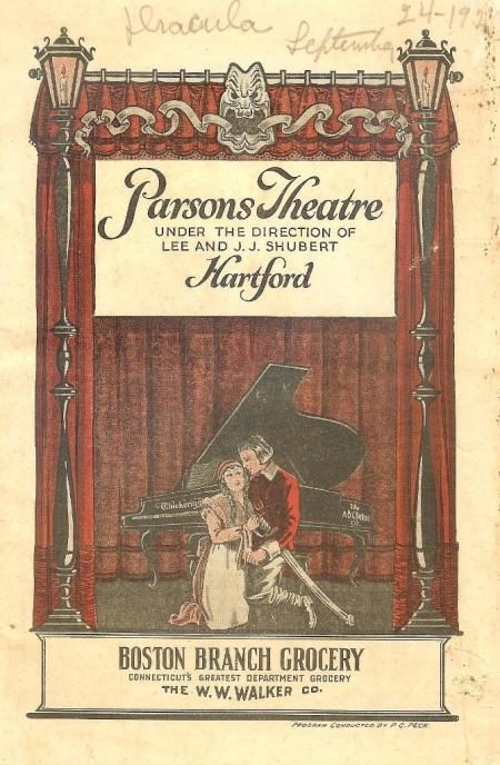 Parsons Theatre, Hartford 24.09.27 (1)
