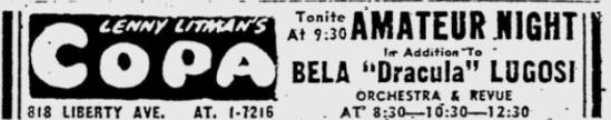 Pittsburgh Post-Gazette, February 14, 1950