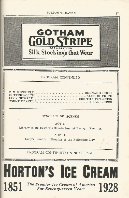 Programme for the week beginning January 30th, 1928 c